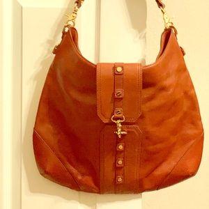 Tory Burch tan leather bag